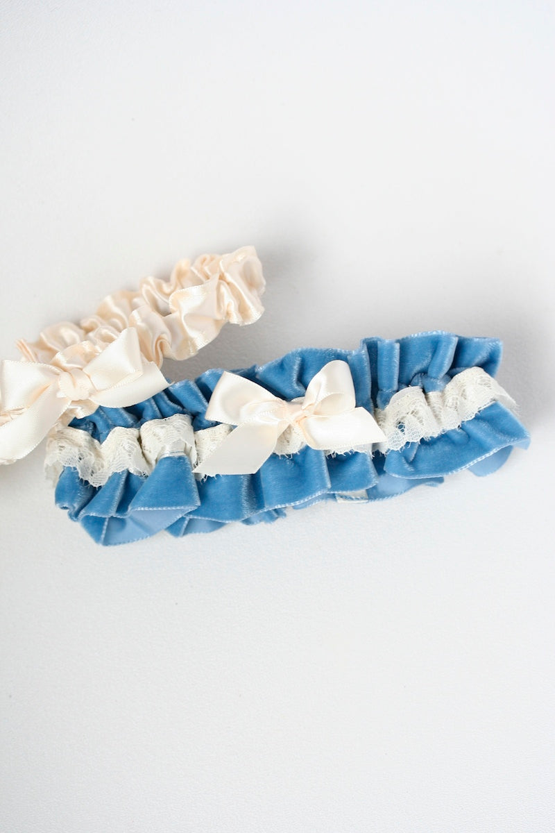 something-blue-velvet-wedding-garter-The-Garter-Girl-3