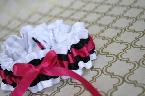 stylish-custom-weddin-garter-white-black-pink-The-Garter-Girl.JPG-2