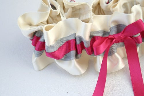 stylish-gray-pink-wedding-garter-The-Garter-Girl