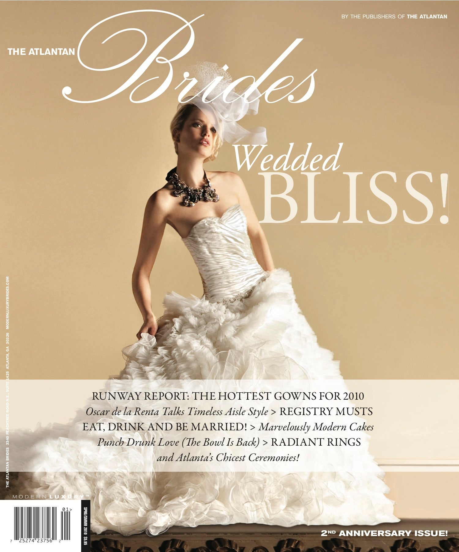 Atlantan Brides Spring/Summer 2010 cover