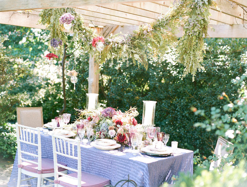 Watercolor Garden Party Wedding Ideas The Garter Girl