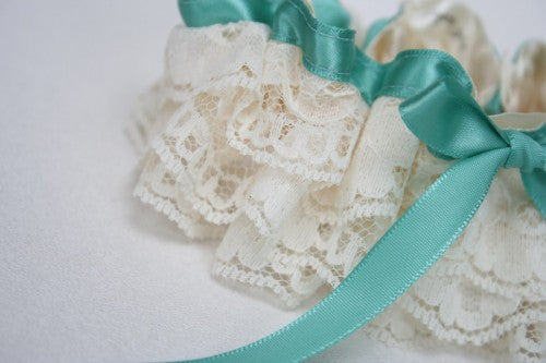turquoise-wedding-garter-set-ivory-lace-The-Garter-Girl-1