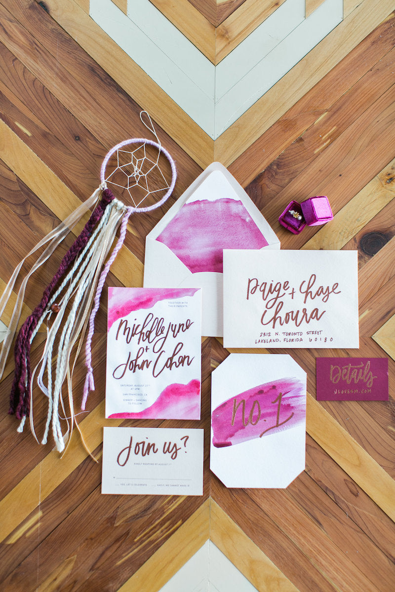 watercolor-invites-wild-and-free-wedding-ideas