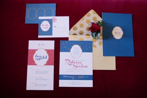 wedding-blue-gold-red-stationer-y-Kristen-Gardner-Photography