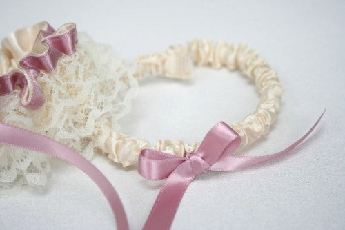 wedding-garter-ivory-lace-pink-sparkle-The-Garter-Girl-1