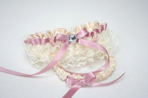 wedding-garter-ivory-lace-pink-sparkle-The-Garter-Girl-3