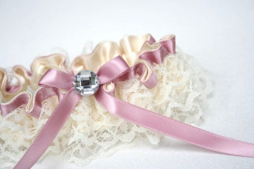 wedding-garter-ivory-lace-pink-sparkle-The-Garter-Girl-4