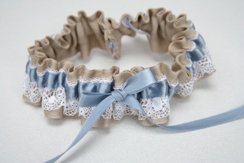 wedding-garter-lace-tan-blue-The-Garter-Girl-1