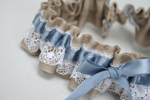 wedding-garter-lace-tan-blue-The-Garter-Girl-3