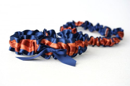 wedding-garter-navy-burnt-orange-The-Garter-Girl-4