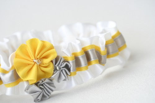 wedding-garter-white-gray-yellow-gray-The-Garter-Girl-2