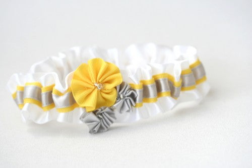 wedding-garter-white-gray-yellow-gray-The-Garter-Girl-3