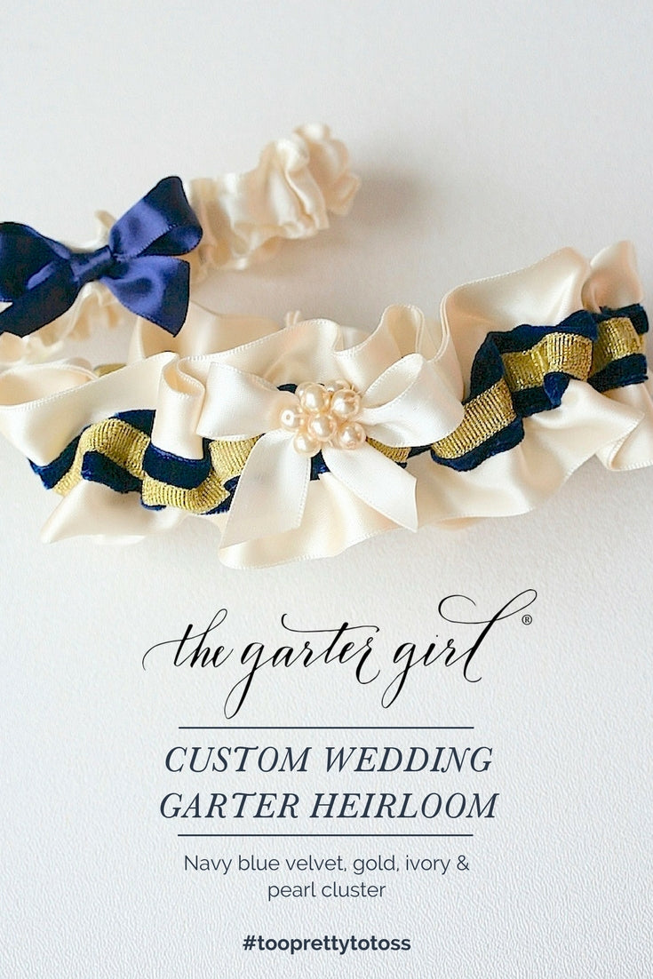 where to find personalized wedding garter