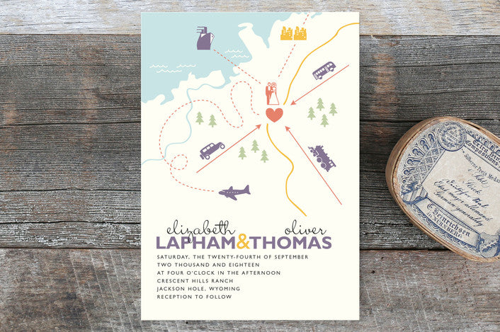 whimsical-map-wedding-invitations