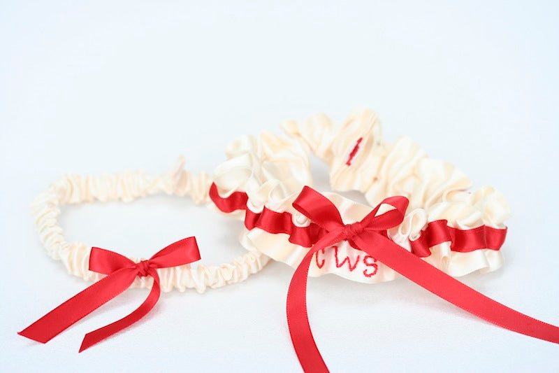 Red-and-Ivory-Bridal-Garter-Set