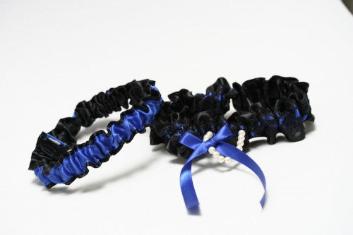 black-lace-royal-blue-bridal-garter-The-Garter-Girl3