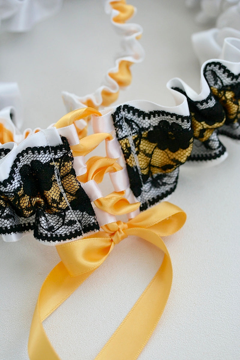 black-lace-wedding-garter-The-Garter-Girl