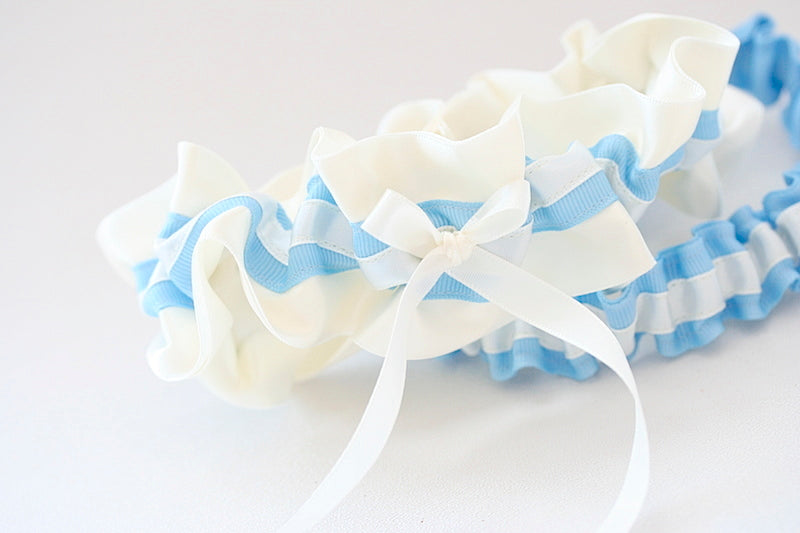 blue-ivory-wedding-garter-The-Garter-Girl