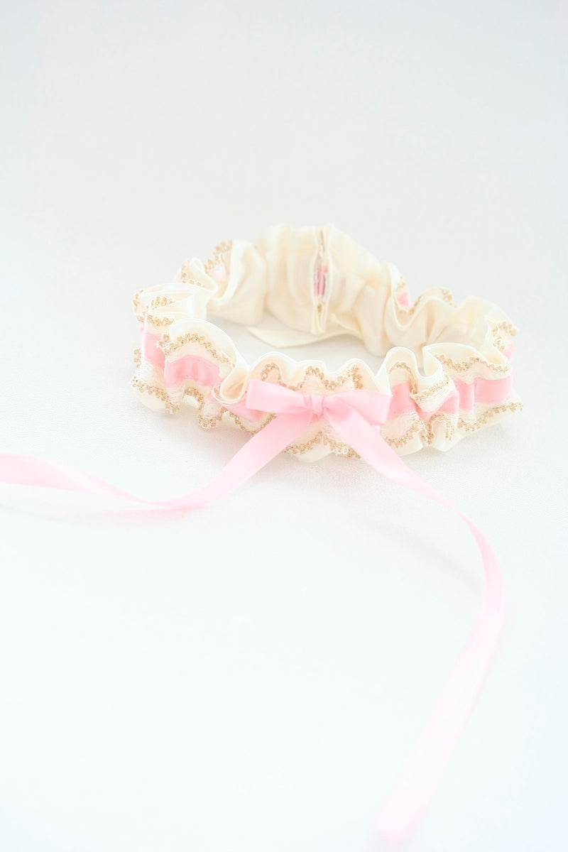 blush-gold-lace-wedding-garter-The-Garter-Girl