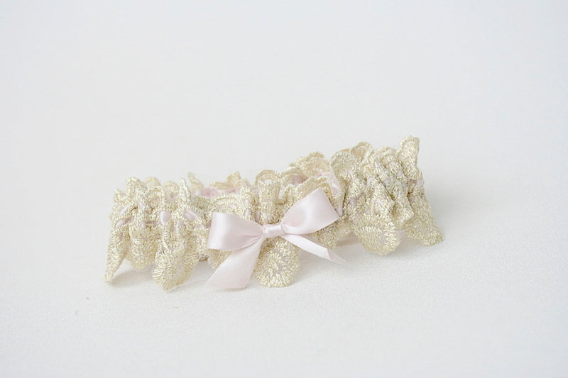blush-gold-wedding-garter-The-Garter-Girl