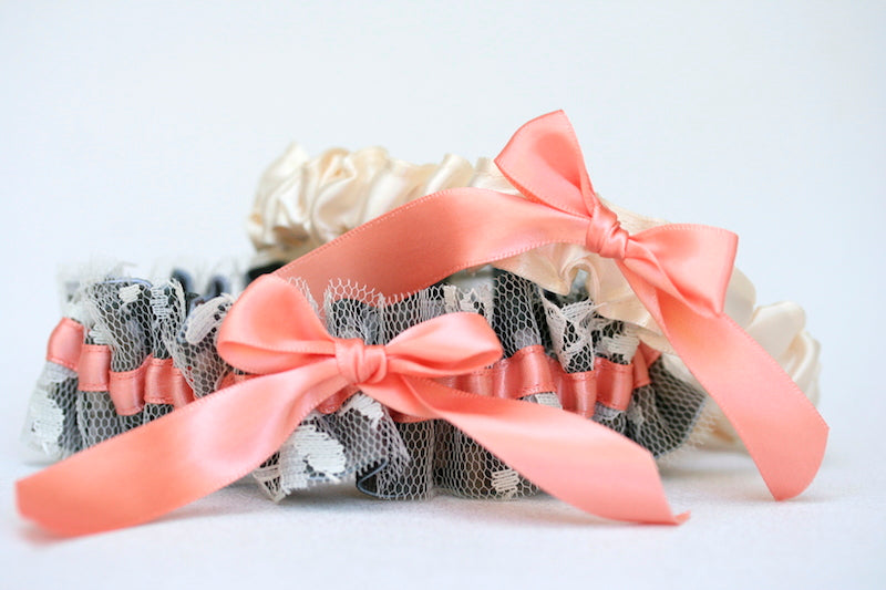 camouflage-lace-orange-wedding-garter-set-The-Garter-Girl