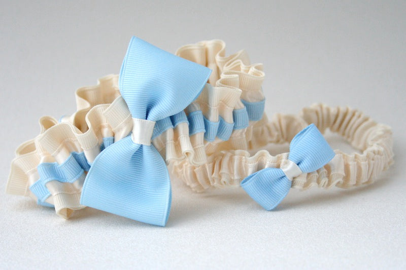 chic-something-blue-wedding-garter-The-Garter-Girl