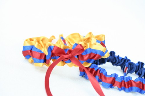 columbian-flag-custom-wedding-garter-The-Garter-Girl