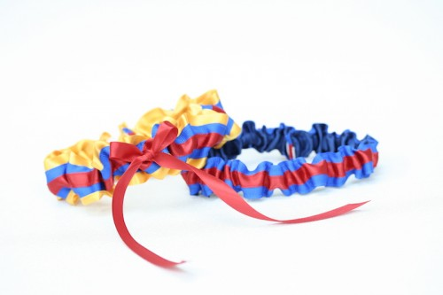 columbian-flag-custom-wedding-garter-The-Garter-Girl1