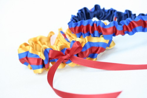columbian-flag-custom-wedding-garter-The-Garter-Girl3