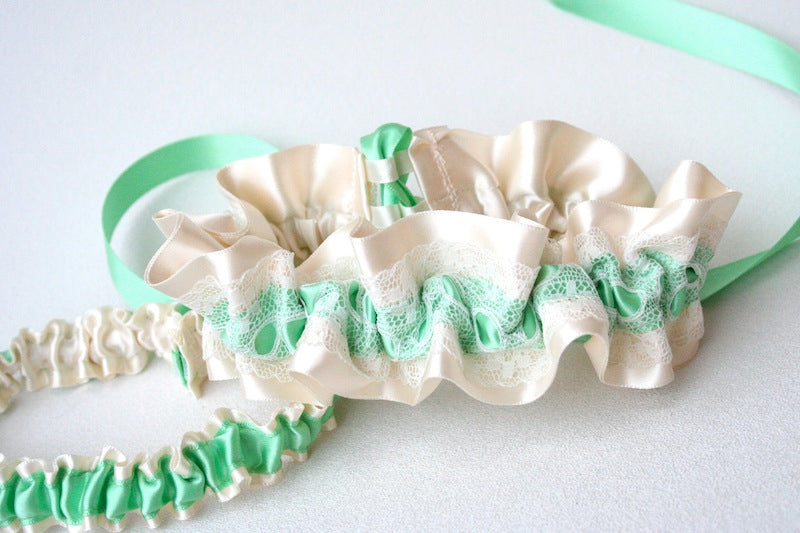 couture-vintage-lace-wedding-garter-mint-green-ivory-The-Garter-Girl1