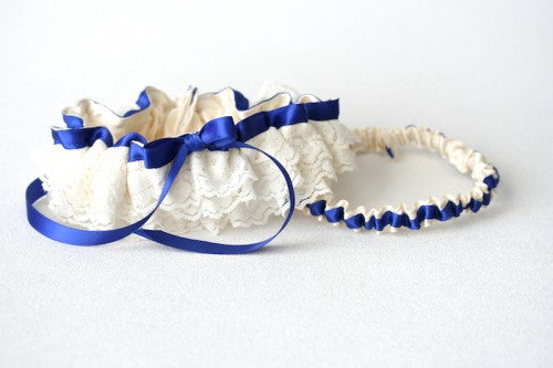 custom-lace-roayl-blue-wedding-garter-The-Garter-Girl