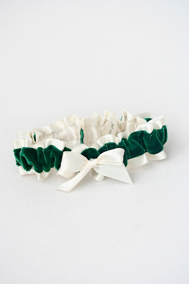 emerald-velvet-green-wedding-garter-the-garter-girl