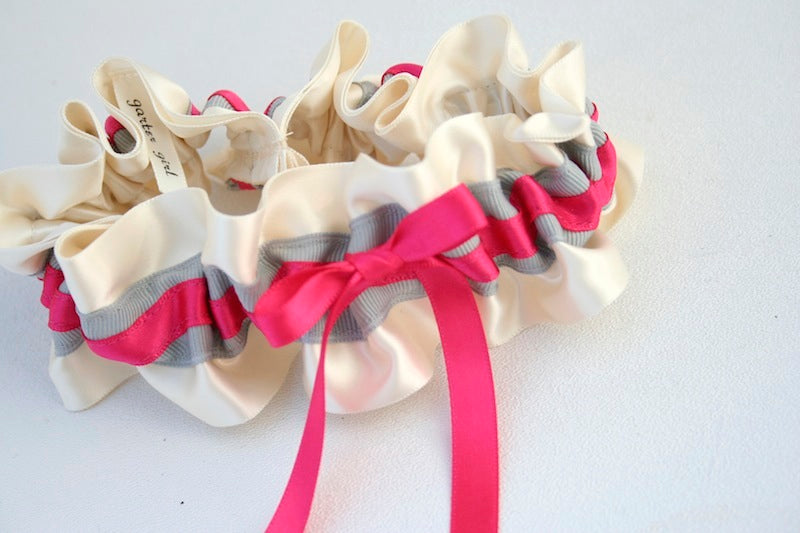gray-hot-pink-wedding-garter-The-Garter-Girl