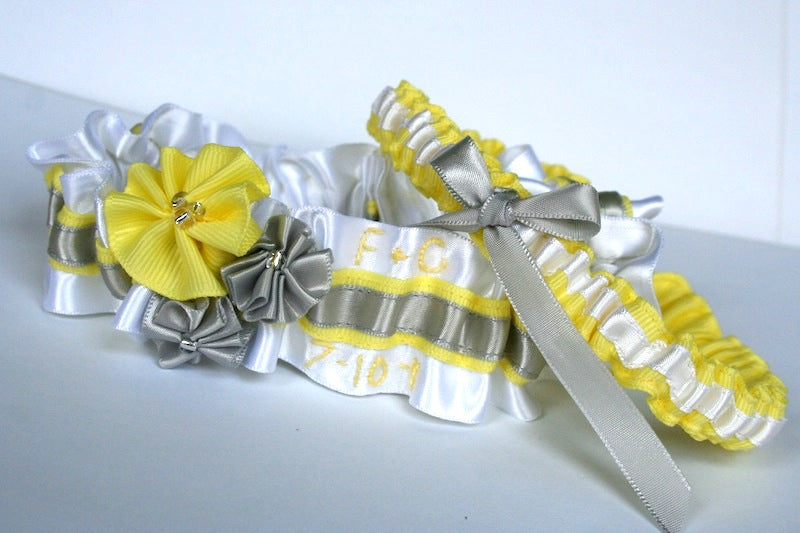 gray-yellow-and-white-wedding-garter-set