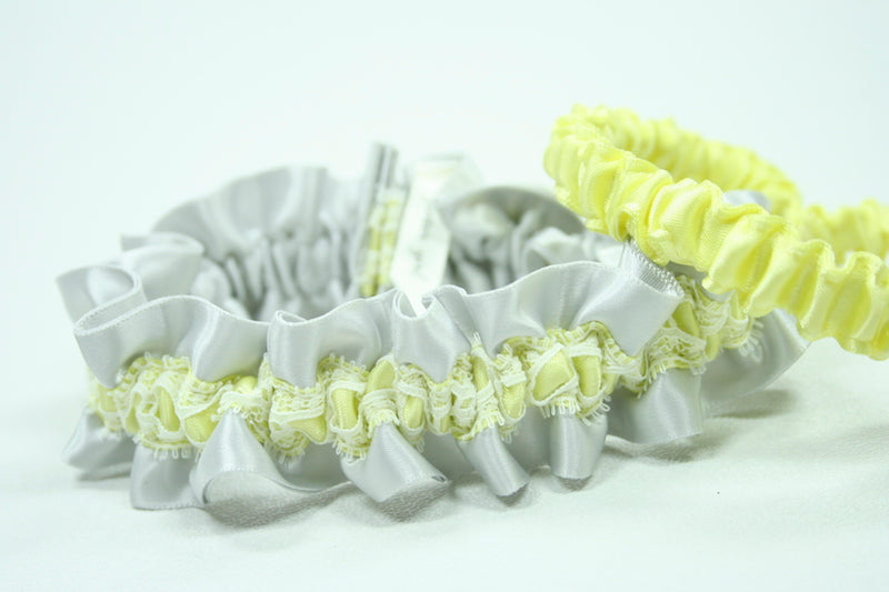 gray-yellow-custom-wedding-garter-The-Garter-Girl