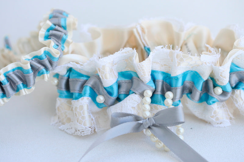 heirloom-aqua-gray-wedding-garter-The-Garter-Girl