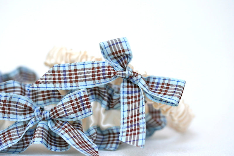 ivory-blue-plaid-wedding-garter-set-The-Garter-Girl-3