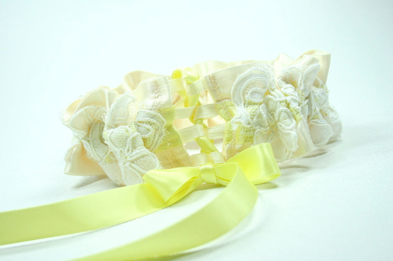 ivory-lace-yellow-custom-wedding-garter-The-Garter-Girl
