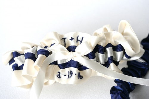 ivory-navy-blue-wedding-garter-The-Garter-Girl2