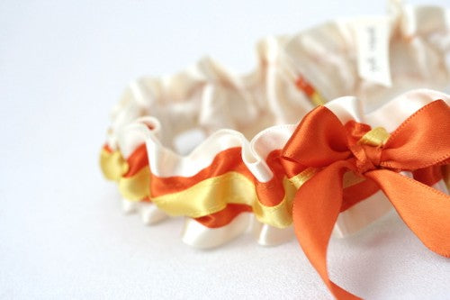 ivory-orange-yellow-wedding-garter-The-Garter-Girl1