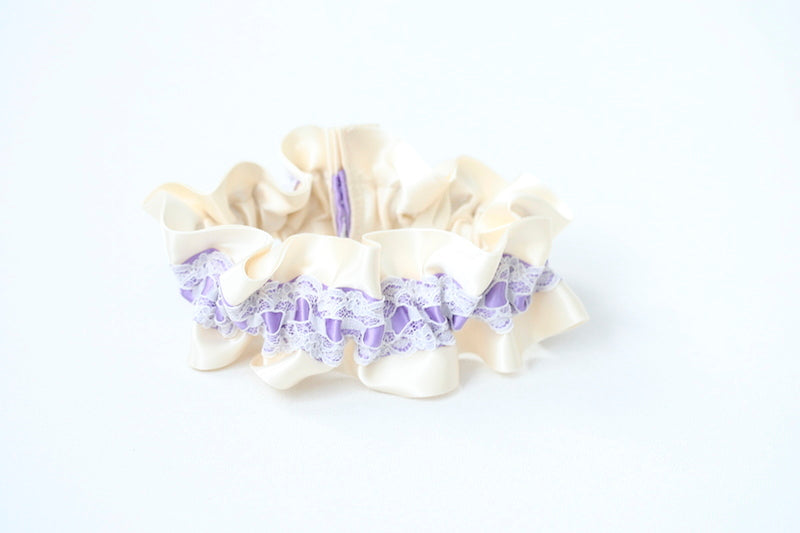 light-purple-ivory-custom-wedding-garter-the-garter-girl
