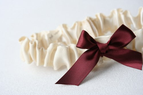 marsala-ivory-wedding-garter-The-Garter-Girl-2