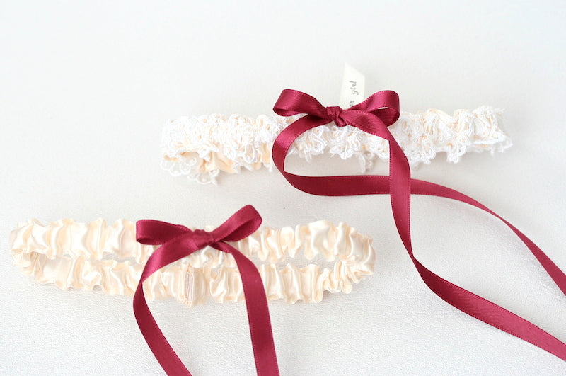 merlot-lace-wedding-garter-set-The-Garter-Girl