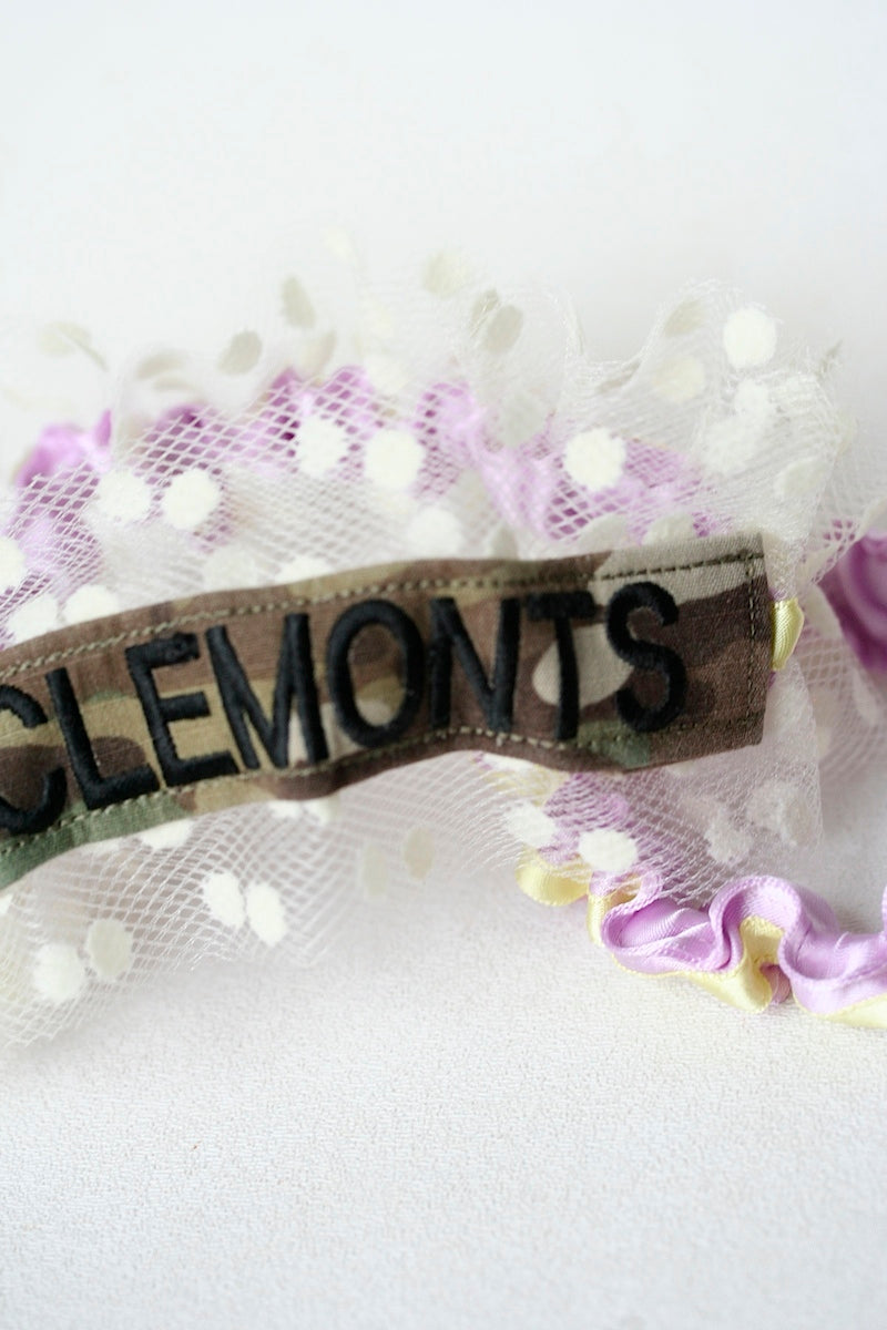 military-name-tape-wedding-garter-The-Garter-Girl-1