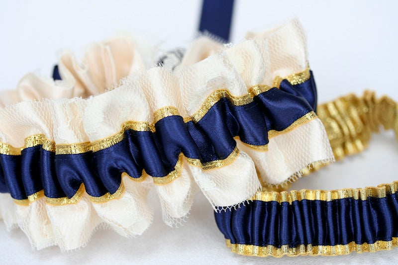 navy-and-gold-bridal-garter