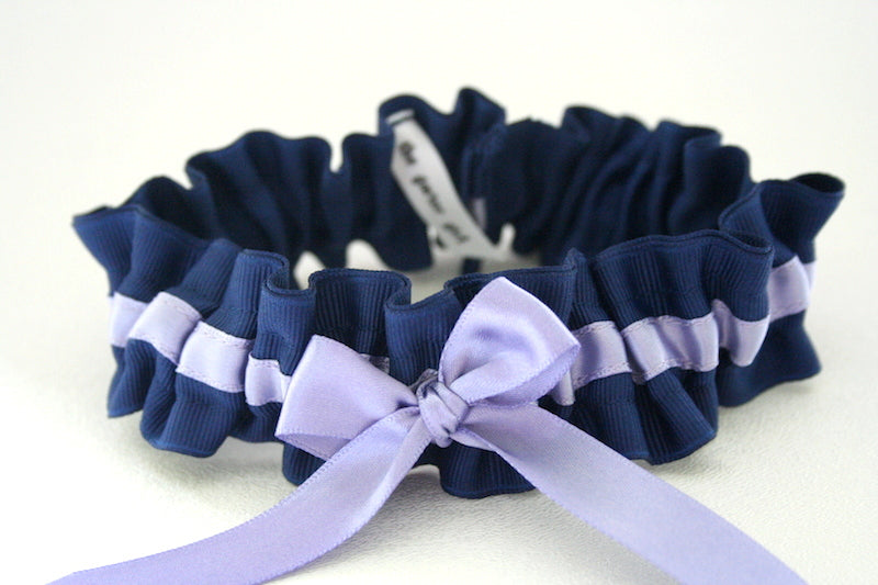navy-blue-lavender-custom-wedding-garter-The-Garter-Girl-16