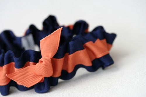 navy-burnt-orange-wedding-garter-The-Garter-Girl-3