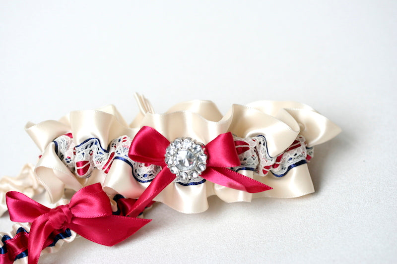 navy-fuschia-wedding-garter-The-Garter-Girl-2