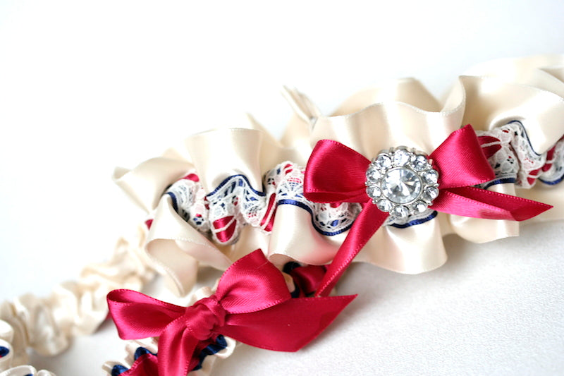 navy-fuschia-wedding-garter-The-Garter-Girl