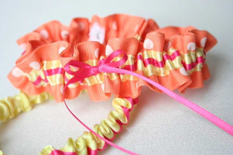 orange-polka-dot-bridal-garter-The-Garter-Girl